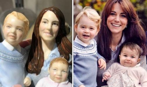 Kate, George and Charlotte statue branded 'ugly' by royal fans - 'Worst thing I've seen'