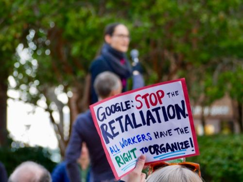 The federal government is investigating whether Google violated labor laws in firing four workers over Thanksgiving