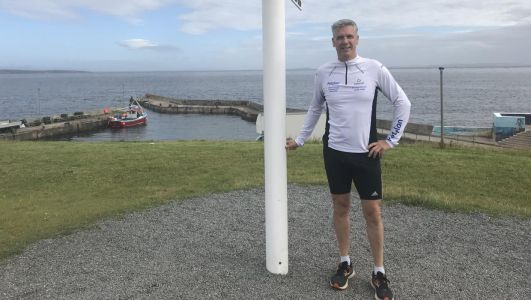 Co Tyrone vet undertaking month of marathons for charity