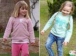 Two fair-haired little girls who vanished on a family trip