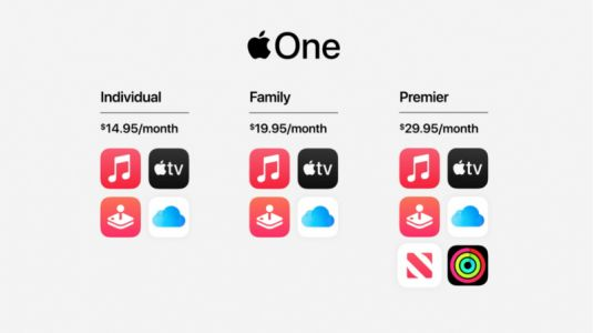 Apple One launches today, bundling Music, iCloud, more for $14.95 and up
