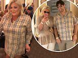 TOWIE's James Argent and Gemma Collins don matching Burberry looks during loved-up Tenerife getaway