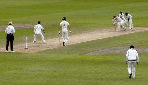 Pakistan take control of England on second afternoon of first Test