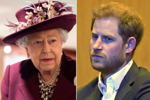 Meghan claims 'royals put pressure on Queen over brand ban as Harry is favourite'