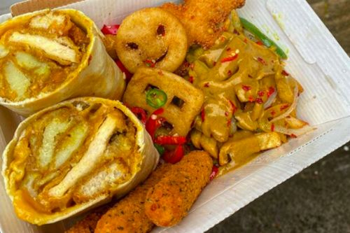 Glasgow cafe tops childhood favourites with curry sauce in unique 'Cooncil Box'