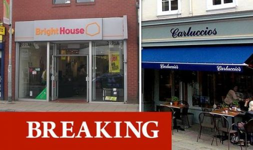 Coronavirus claims high street victims as Carluccio's and BrightHouse face administration