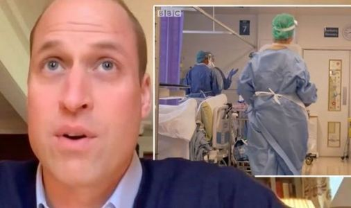 Prince William issues warning over concerns for NHS frontline: 'We need to be prepared'