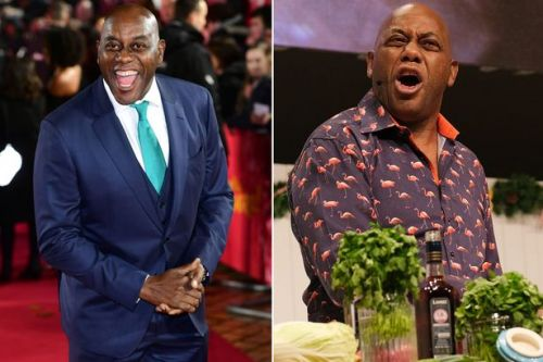 Ainsley Harriott 'choked up' at being recognised on New Year Honours List