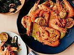 Be a canny: Coconut and lime prawns