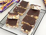 Violet Crumble SLICE recipe wowing Australia after cupcakes and cheesecake made with the iconic bar
