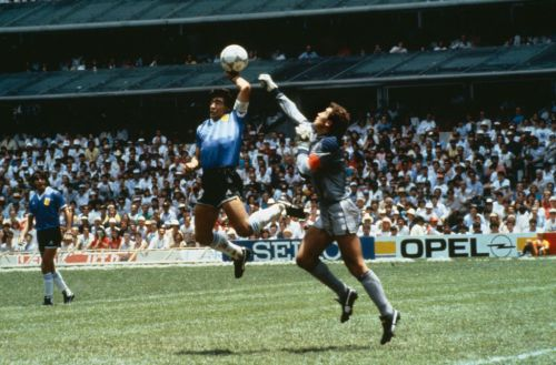 Peter Shilton always refused to shake hands with Diego Maradona over Hand of God goal as Argentine wouldn't apologise