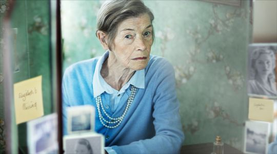 Who wrote the book Elizabeth Is Missing on which the TV movie starring Glenda Jackson is based?