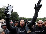 Anthony Joshua and Boris Becker among the stars spotted at Black Lives Matter protests in the UK