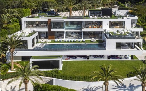 Rival Bel Air mansions vying to become America's most expensive home