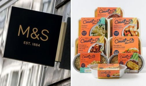 Marks and Spencer launches low-calorie food box with eight diet-friendly meals for £30
