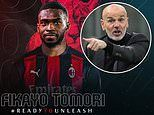 Chelsea's Fikayo Tomori seals loan move to AC Milan until the end of the season with £25m buy option