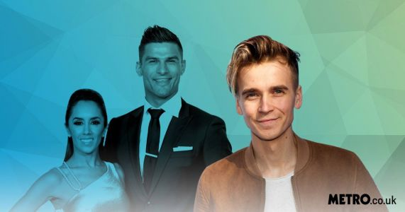 Joe Sugg supports Strictly Come Dancing co-stars Aljaz Skorjanec and Janette Manrara as they return to dance floor