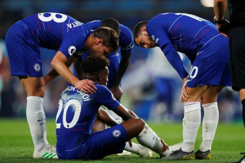Callum Hudson-Odoi hands Chelsea an injury blow after limping off with groin problem against Burnley