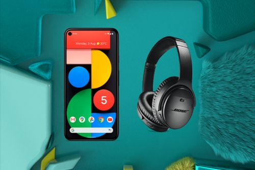 Pre-order Google Pixel 5 or 4a 5G and get free Bose QC35 II headphones