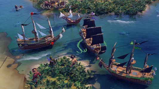 Here's everything you need to know about the Civilization 6 Pirates scenario