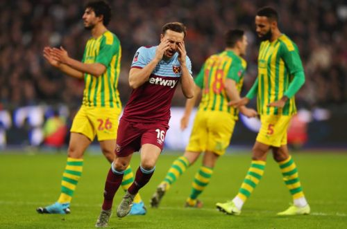 Townsend stunner sees 10-man Baggies stun Hammers in huge FA Cup shock