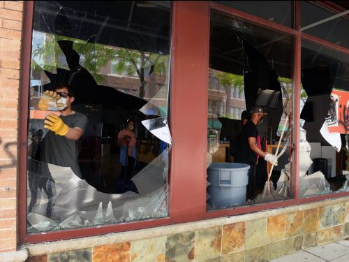 Restaurant owners say damages due to looting can be fixed, but there are bigger problems on the horizon