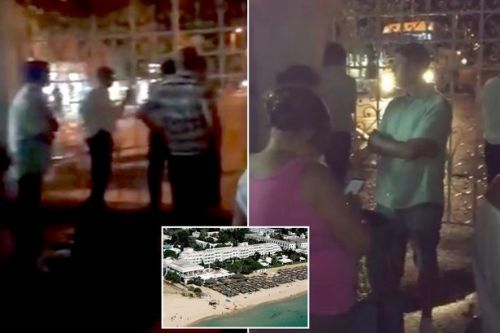 Brit guests 'locked in Tunisian hotel by armed guards' in Thomas Cook payment row