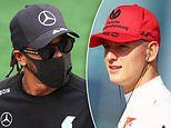 Mick Schumacher hails Lewis Hamilton as Mercedes driver could equal Michael's F1 91 Grand Prix wins