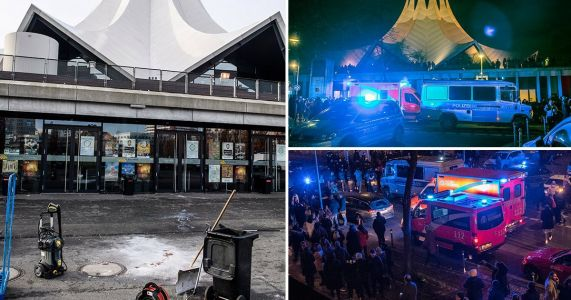 Berlin shooting: One dead and four injured after gunman opens fire outside music venue