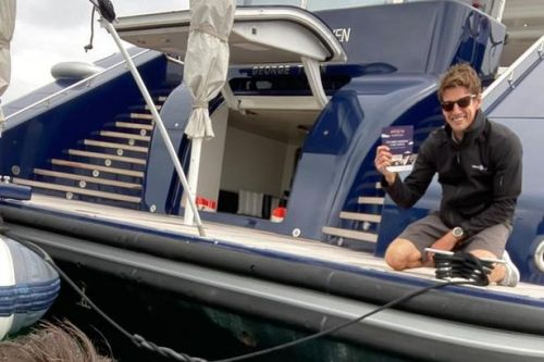 Tom Cruise hand delivered invite to watch Top Gun by surfer