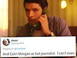 The Crown fans swoon over 'Hot Journalist' Colin Morgan