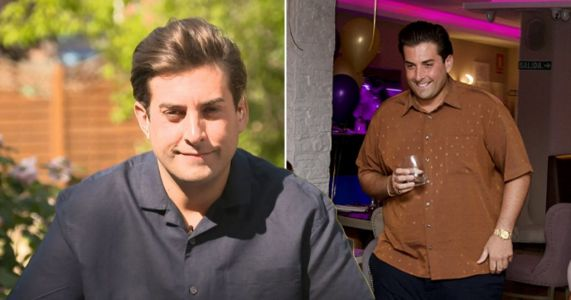 James Argent beams as he performs in Spain following rehab stint