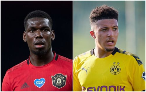 Paul Pogba 'excited' by Manchester United's bid to sign Jadon Sancho