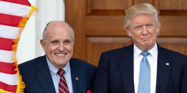 Federal prosecutors are investigating whether Rudy Giuliani violated foreign lobbying laws in Ukraine