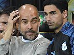 Pep Guardiola's mask is beginning to slip.the Premier League may be seeing a power shift