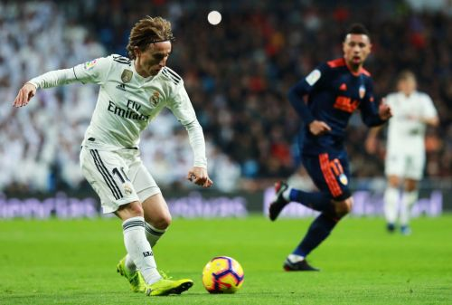 Real Madrid's Modric 'expected to be sidelined for two to three weeks' - ES