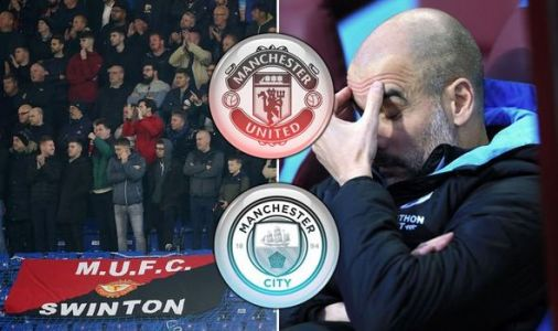 Man Utd fans mock Man City over Champions League ban with chant during Chelsea clash