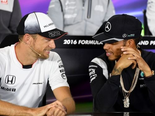 Button: 'Hamilton doesn't play games, never dirty'