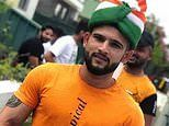 Indian immigrant Vishal Jood receives hero's welcome as he's deported home after stint in jail
