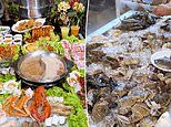 Mind-blowing Singapore buffet treats guests to over 100 dishes