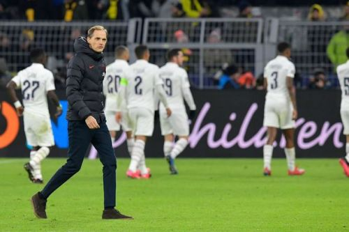 Thomas Tuchel defends PSG tactics as Borussia Dortmund defeat ramps up pressure