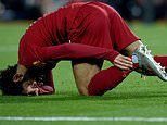 Liverpool have 'major concerns' over Mo Salah's ankle injury and face nervy wait for scan results