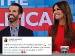 Kimberly Guilfoyle says she 'feels good' despite positive COVID-19 test as she isolates with Don Jr