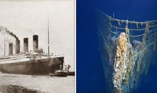 Titanic doomed: Divers discover 'shocking' shipwreck state - video shows crumbling giant
