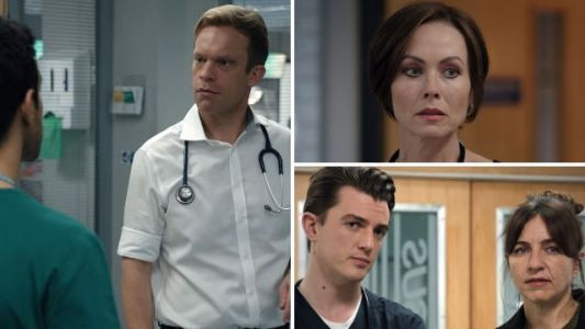 Casualty review with spoilers: Emotional farewells as Rash says goodbye