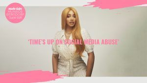Munroe Bergdorf: 'Time's up on social media abuse'