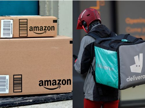 Deliveroo and Just Eat Continue Playground Scrap Over Amazon's Millions
