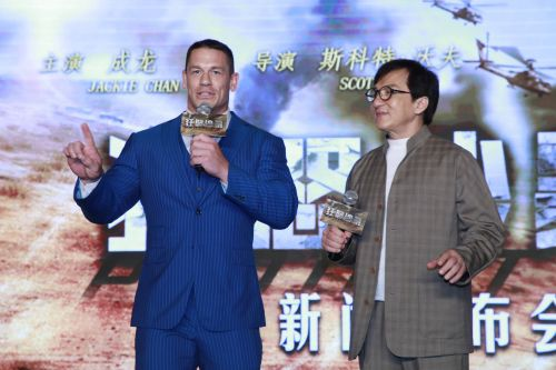 John Cena admits working with Jackie Chan was 'one of the best experiences of his life'