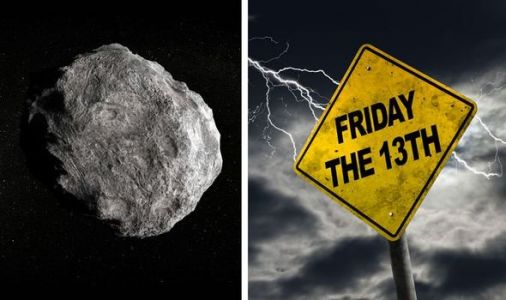 NASA asteroid tracker: Will an unlucky Friday the 13th asteroid hit Earth tomorrow?