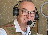 BUMBLE ON THE TEST: Commentating from home is certainly unique!